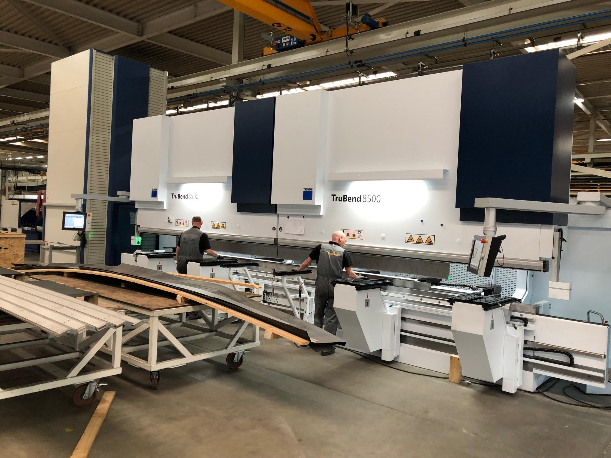JACQUET Nederland - New Trubend 8500 tandem press brake