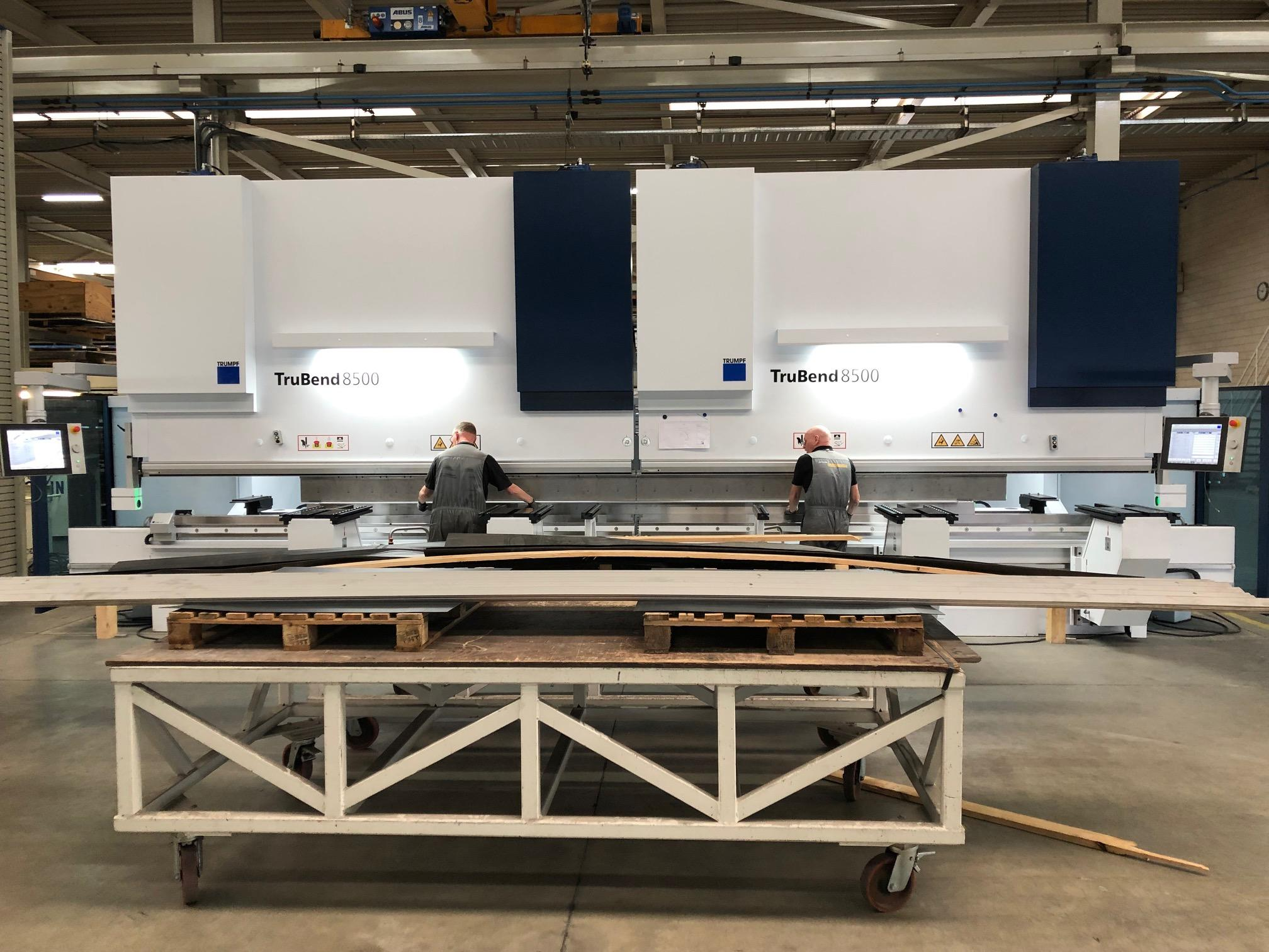 New Trubend 8500 tandem press brake